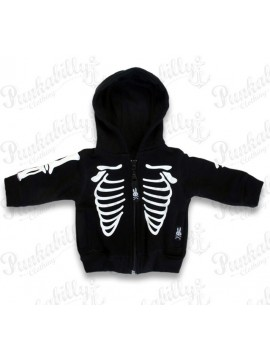 Rockabilly Ribcage Baby Jacket