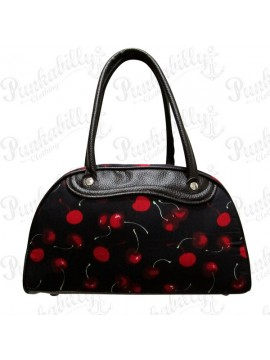 Black Cherry Bowling Bag