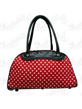 Red Polka Dot Bowling Bag