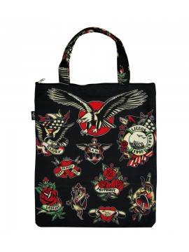 Tattoo Family Canvas Bag