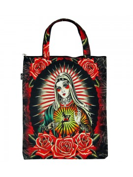 Girl of Faith Canvas Bag