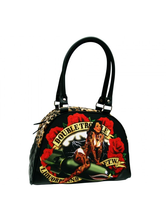 Double Trouble Missile Girl Handbag