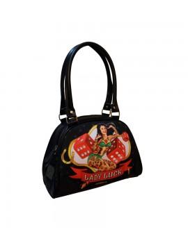 Pin Up Gambler Bowling Bag