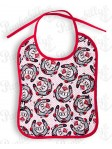 Red and White Lucky Me Bib