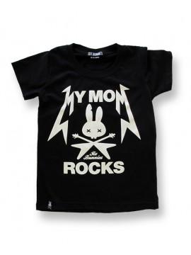 Mom Rocks Six Bunnies T-Shirt