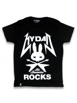 Dad Rocks Six Bunnies T-Shirt