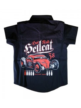 Car Enthusiast Boys Work Shirt
