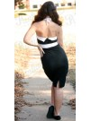 Black and White Pin Up Dress