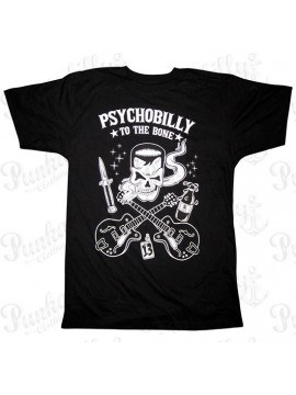 To The Bone Psychobilly T-Shirt