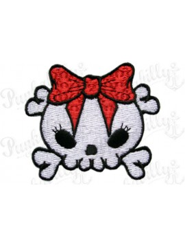 Cutie Pie Skull Patch