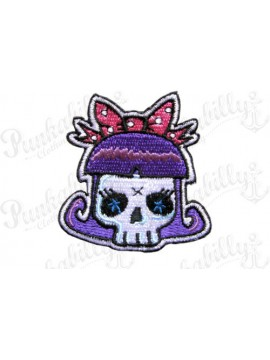 Bettie Bangs and Purple Bones Patch