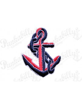 Red and Blue Nautical Patch
