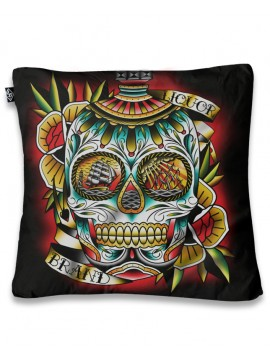 Sailor Skull Pillow Cover