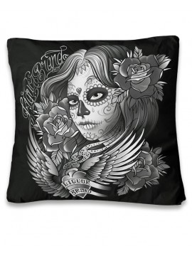 Tattooed Angel Pillow Cover