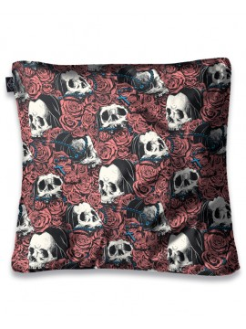 Drowning in Roses Pillow Cover