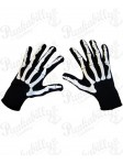 Black and White Skeleton Gloves