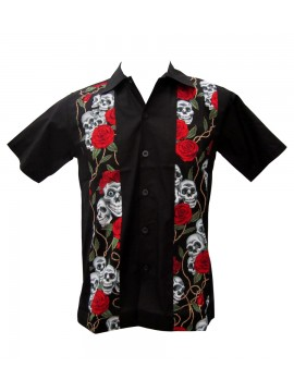 Smiling Skulls Work Shirt