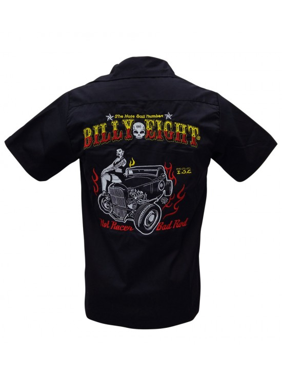 Hot Racer Bad Rod Work Shirt
