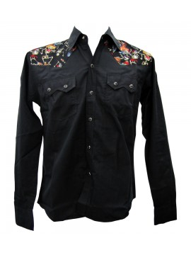 Mariachi Party Long Sleeve Work Shirt