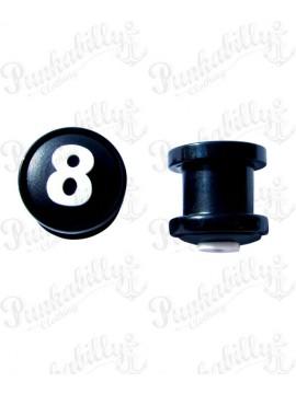 Silicon 8 Ball design Plug