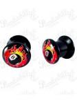 Acrylic Box Plug Flame 8 Ball