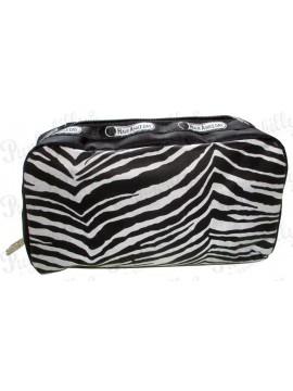 Punk Rock Zebra Stripe Pouch