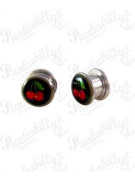 Stainless Steel Red Cherry Plug