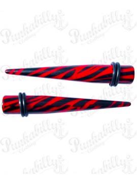 Red & Black Zebra Taper Expander