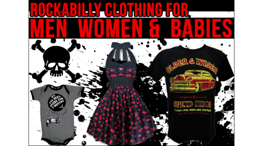 Punk rock clothing for men, women, and little ones