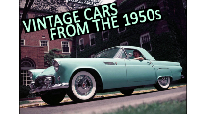 Classic Cars from the 1950s that inspired Rockabilly culture